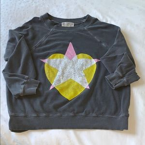 Wildfox Heart and Star Sweatshirt